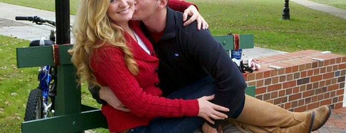 The FSU Kissing Bench is one of 10 Things To Do Before Graduating from FSU!.