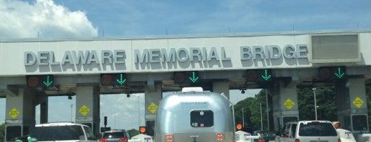 Delaware Memorial Bridge Toll Plaza is one of Highways.