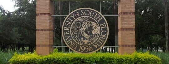 University of South Florida is one of Favorite Downtown Attactions.