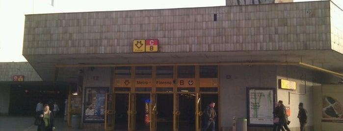 Metro =B= =C= Florenc is one of Metro B.