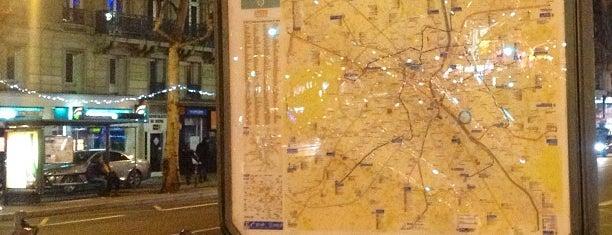 Métro Bastille [1,5,8] is one of Stations de metro a Paris.