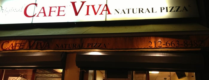 Cafe Viva Gourmet Pizza is one of Vegan eats.
