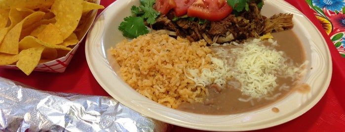 The Original Burrito & Co. is one of PHX Latin Food in The Valley.