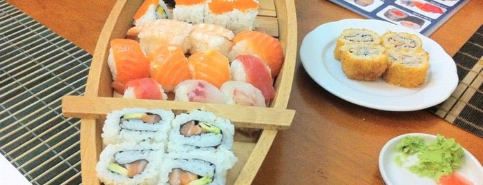 Fuji is one of Sushi.