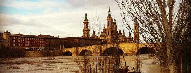 Ribera del Ebro is one of Top 10 de Lugares de Zaragoza.