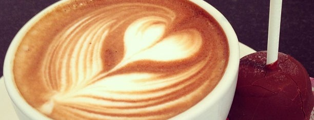 Caffe Luxxe is one of /r/coffee.