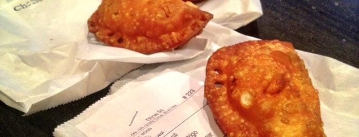 Mama's Empanadas is one of Vegetarian-Friendly Restaurants in Queens.