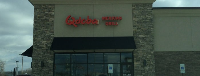 Qdoba Mexican Grill is one of Springfield, Springfield!!.