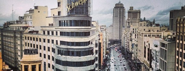 Plaza del Callao is one of @ Madrid (MD, España).