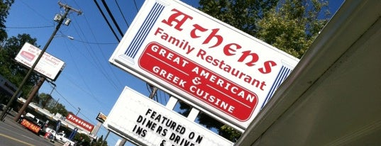 Athens Family Restaurant is one of Triple D Checklist.