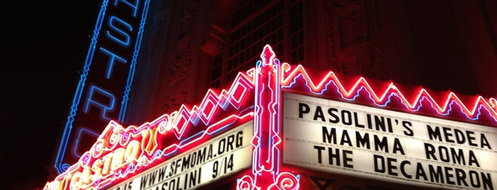 Castro Theatre is one of Top 10 Most Popular Indie Movie Theaters.