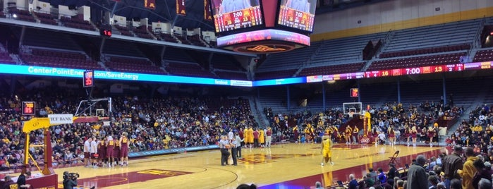Williams Arena is one of College Basketball Venues.