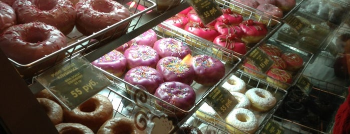 Dunkin' Donuts is one of Данкин Донатс.