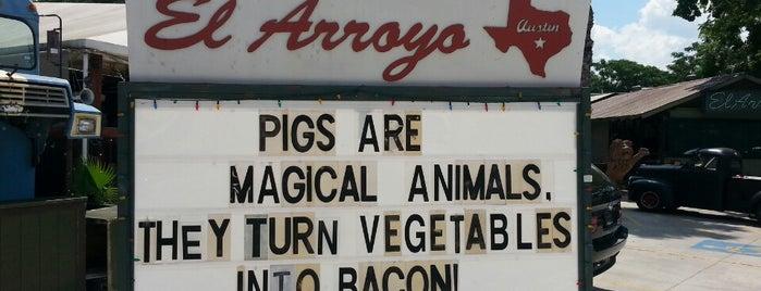 El Arroyo is one of FOOD!.
