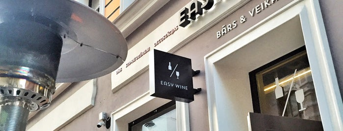 Easy wine is one of Bars and Pubs in Riga.