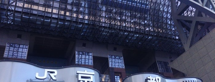 Kyoto Station is one of JR線の駅.