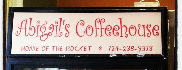 Abigail's Coffeehouse is one of PA Shooflyer.