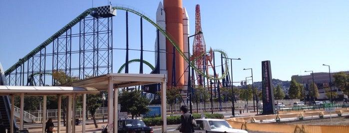 スペースワールド駅 (Space World Sta.) is one of JR.