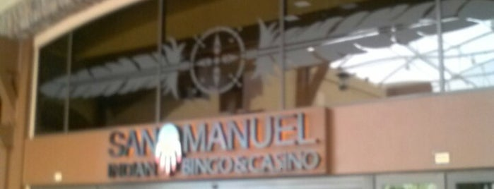 San Manuel Indian Bingo & Casino is one of My Most Visited Places!.