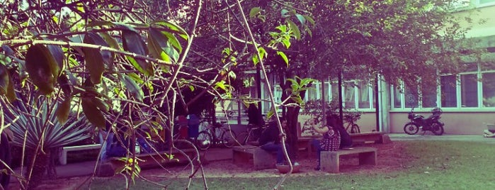 Biblioteca Florestan Fernandes (FFLCH-USP) is one of Universidade.