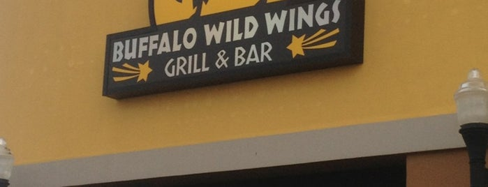 Buffalo Wild Wings is one of Angie.