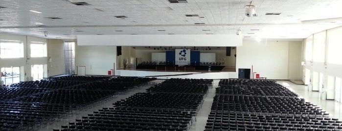 Centro de Cultura e Eventos Prof. Ricardo Freua Bufáiçal is one of UFG (Câmpus II).