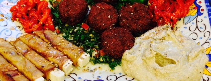 Falafels Middle Eastern Grill is one of Bloomington To-Do.