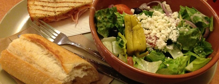 Panera Bread is one of Time to Eat.
