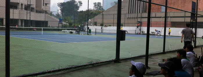 Tennis Court Sultan Hotel is one of Ace Badge (Tennis Court) in Jakarta Indonesia.
