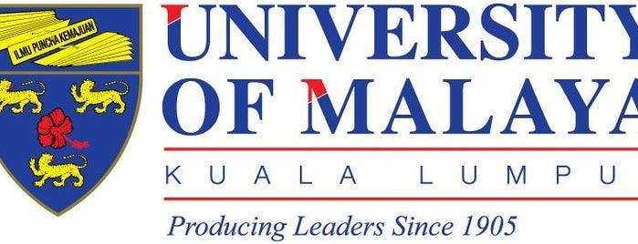 Universiti Malaya (University of Malaya) is one of Fashion Accessories.