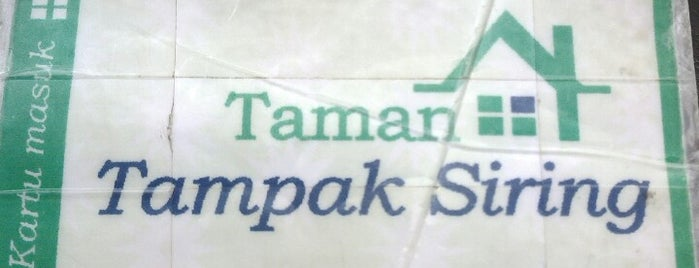 Taman Tampak Siring is one of Dog's Best Friend Badge.