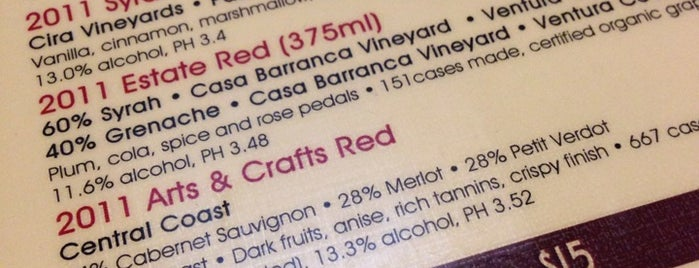 Casa Barranca Wine Tasting is one of Ventura Wineries.