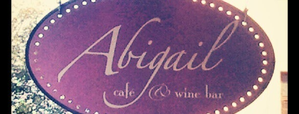 Abigail Cafe & Wine Bar is one of To Drink in Brooklyn.