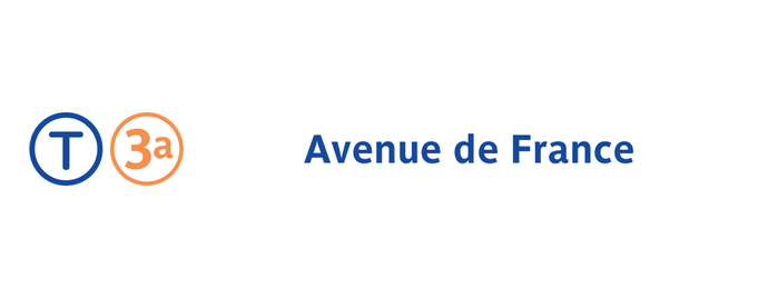 Station Avenue de France [T3a] is one of Tramway T3a.
