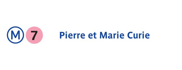 Métro Pierre et Marie Curie [7] is one of Métro de Paris.