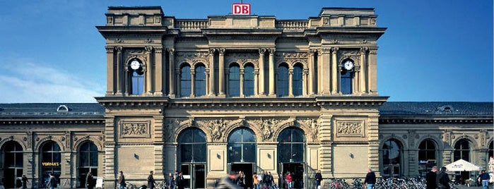 Mainz Hauptbahnhof is one of European places I've visited..