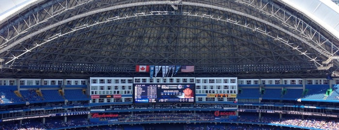 Rogers Centre is one of Major League Ballparks.