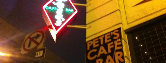 Pete's Cafe & Bar is one of LA Restaurants.
