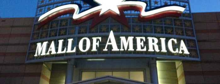 Mall of America is one of 20 favorite restaurants.