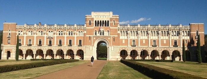 Rice University is one of Local Houston.