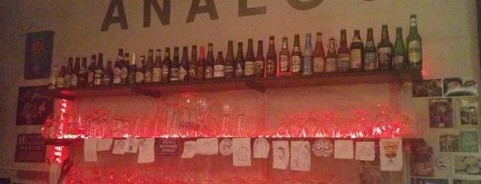 L'Analog Bar is one of Beer Map.