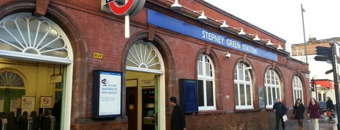 Stepney Green London Underground Station is one of #LoveE1.