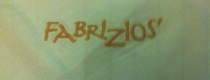 Fabrizzio's is one of Places.