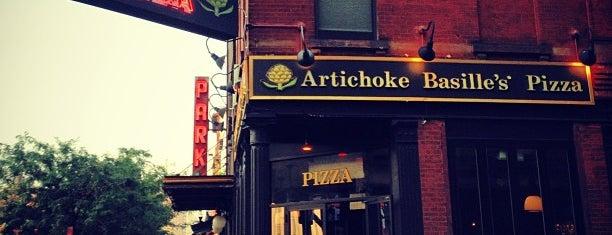 Artichoke Basille's Pizza & Bar is one of My favorite eats in NYC.