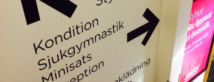 SATS Stadion is one of SATS (gym) Stockholm.