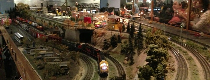 San Diego Model Railroad Museum is one of 75 Geeky Places to Take Your Kids.
