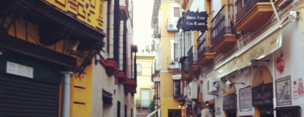Santa Cruz Neighborhood is one of My Favorites in Spain.