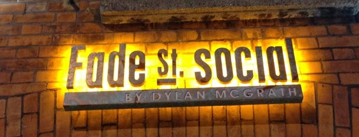 Fade St. Social is one of Favorites.