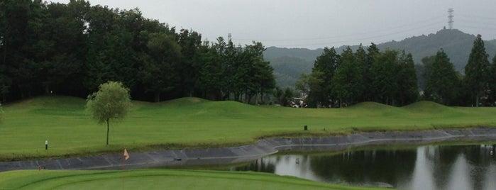 桂ヶ丘カントリークラブ is one of ゴルフ場(茨城).
