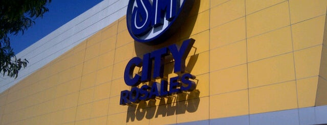 SM City Rosales is one of Malls.